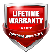 topform lifetime warranty