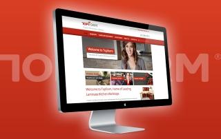 Topform Wesite Launch
