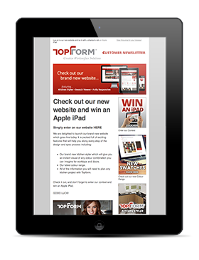 topform-newsletter-ipad