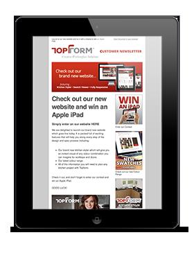 topform-newsletter-ipad