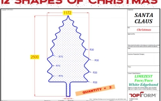 Christmas Tree Worktop Design